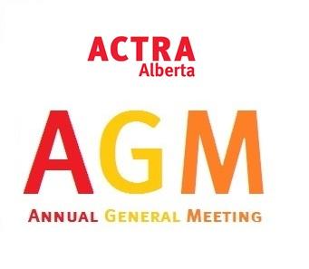 ACTRA Alberta Annual General Meeting 2021